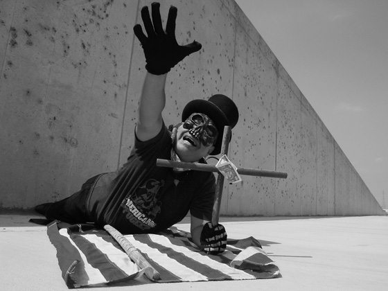 José Torres Tama- 'Lower 9th Ritual of Mourning', photo by Craig Morse