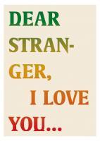 Dear stranger - cover