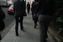 Walking workshop by Karen Christopher as part of Beyond Glorious - image by Christopher Matthews