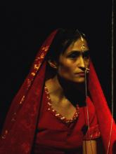 Rajni Shah as Indian bride in Mr Quiver. Photo by Theron Schmidt.